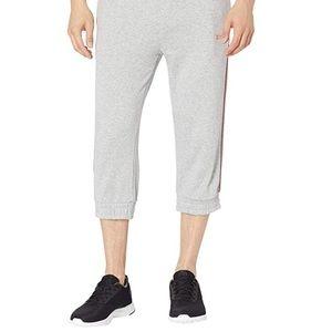 Ugg cropped sweatpants size small light grey